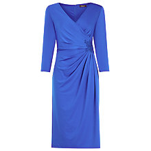 Buy Alexon Lace Trim Jersey Dress, Blue Online at johnlewis.com