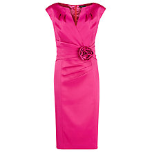 Buy Alexon Sateen Rosette Dress Online at johnlewis.com