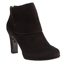 Buy Peter Kaiser Capita Heeled Ankle Boots, Black Online at johnlewis.com