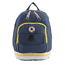 Buy Converse All Star Badge Backpack, Navy Online at johnlewis.com