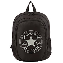 Buy Converse Large Backpack, Black Online at johnlewis.com