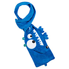 Buy Animal Boys' Mylow Monster Scarf, Blue Online at johnlewis.com