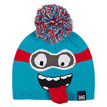 Buy Animal Boys' Kanda Monster Beanie, Turquoise Online at johnlewis.com