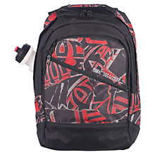 Buy Animal Hervey Water Bottle Backpack, Black/Red Online at johnlewis.com