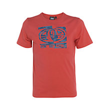 Buy Animal Boys' Hollowed Graphic Print T-Shirt, Red Online at johnlewis.com