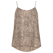 Buy Oasis Snake Print Camisole, Multi Online at johnlewis.com