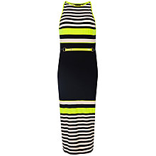 Buy Ted Baker Abiee Candy Stripe Print Dress, Navy Online at johnlewis.com