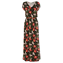 Buy Oasis Palm Print Maxi Dress, Multi Online at johnlewis.com