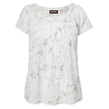 Buy Phase Eight Enid Embroidered Blouse, Ivory Online at johnlewis.com