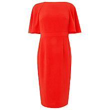 Buy L.K. Bennett Flared Sleeve Nara Dress, Ruby Red Online at johnlewis.com