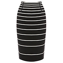 Buy Oasis Stripe Pencil Skirt, Multi Online at johnlewis.com