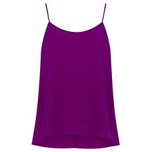 Buy Oasis Plain Dip Hem Camisole Top Online at johnlewis.com