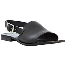Buy Dune Black Lauren Slingback Sandals Online at johnlewis.com