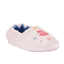 Buy John Lewis Girl Floating Fairy Slippers, Pink Online at johnlewis.com