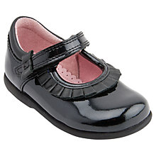 Buy Start-rite Childrens' Coco Shoes, Black Patent Online at johnlewis.com