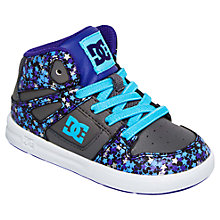 Buy DC Children's Rebound SE Hi-Top Trainers Online at johnlewis.com