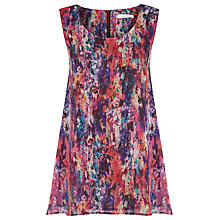 Buy Kaliko Inex Print Blouse, Red Online at johnlewis.com