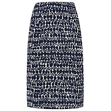 Buy L.K. Bennett Volsa Tulip Skirt, Black/White Online at johnlewis.com