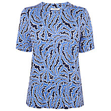 Buy L.K. Bennett Natal Printed Top Online at johnlewis.com