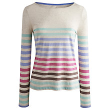 Buy Joules Christen Stripe Jersey Top, Multi Online at johnlewis.com
