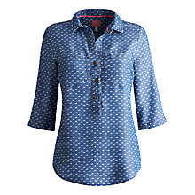 Buy Joules Chiltern Horse Shirt, Blue Online at johnlewis.com