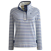 Buy Joules Cowdray Salt Wash Sweatshirt, Blue Online at johnlewis.com