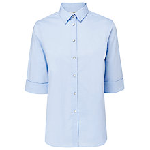 Buy L.K. Bennett Tembray Shirt, Blue Chambray Online at johnlewis.com