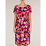 Buy Precis Petite Tropical Floral Print Dress, Multi Online at johnlewis.com