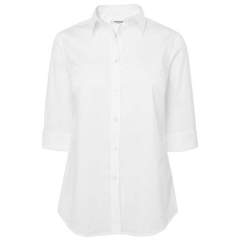 Buy L.K. Bennett Temuco Shirt, White Online at johnlewis.com