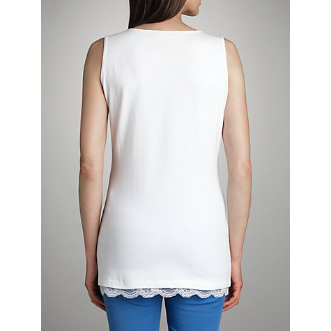 Buy Betty Barclay Lace Trim Vest Top Online at johnlewis.com