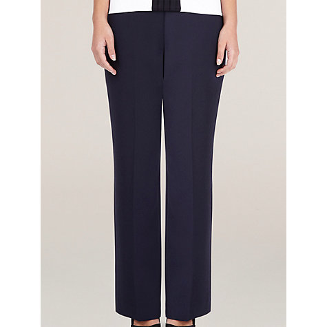 Buy Precis Petite Textured Trousers Online at johnlewis.com