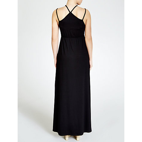 Buy John Lewis Braid Maxi Beach Dress, Black Online at johnlewis.com
