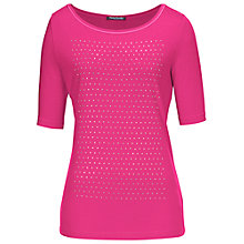 Buy Betty Barclay Short Sleeve Studded T-Shirt Online at johnlewis.com