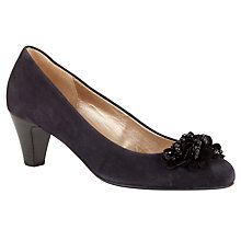 Buy Gabor Alentjo Bead Flower Court Shoes Online at johnlewis.com