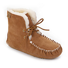 Buy Just Sheepskin Finsbury Slippers, Chestnut Online at johnlewis.com