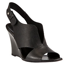 Buy Kin by John Lewis Twenty Slingback Leather Wedges Online at johnlewis.com