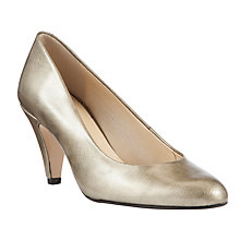 Buy John Lewis Made in England Holt Detatachable Trim Leather Court Shoes Online at johnlewis.com