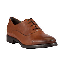 Buy John Lewis Trick Leather Brogues, Tan Online at johnlewis.com