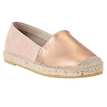 Buy Collection WEEKEND by John Lewis Nevada Leather Espadrilles Online at johnlewis.com
