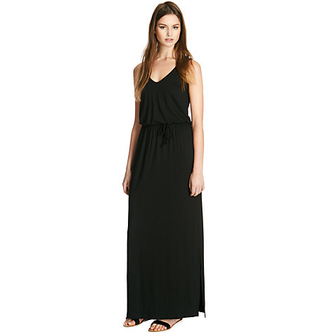 Buy Warehouse V Front Maxi Dress Online at johnlewis.com