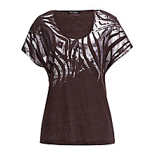Buy Betty Barclay Oversized T-Shirt, Coffee Online at johnlewis.com