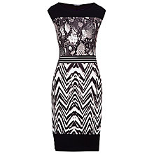 Buy Betty Barclay Sleeveless Snake Skin Print Dress, Black Online at johnlewis.com