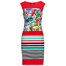 Buy Betty Barclay Stripe Jersey Dress, Varicoloured Online at johnlewis.com
