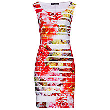Buy Betty Barclay Jersey Sheath Dress, White/Red Online at johnlewis.com