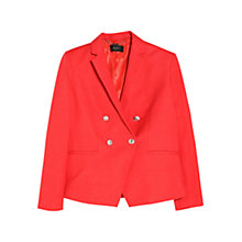 Buy Mango Linen Cotton-Blend Blazer Online at johnlewis.com