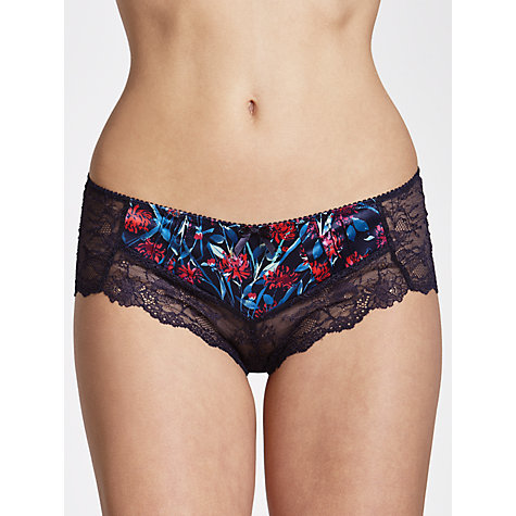 Buy COLLECTION by John Lewis Isla Print Short Briefs, Haze Blue Online at johnlewis.com