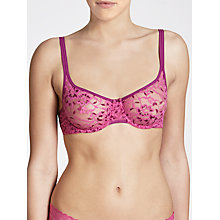 Buy DKNY Signature Lace Underwire Demi Bra, India / Grapevine Online at johnlewis.com