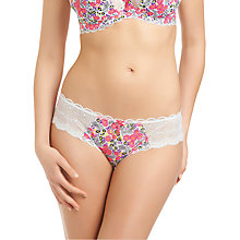 Buy Freya Flourish Briefs, Blossom Online at johnlewis.com