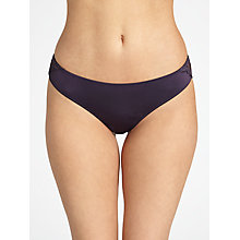 Buy COLLECTION by John Lewis Marilyn Lace Back Briefs, Purple Smoke Online at johnlewis.com
