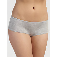 Buy John Lewis 5 Pack Modal Shorts, Grey Marl Online at johnlewis.com